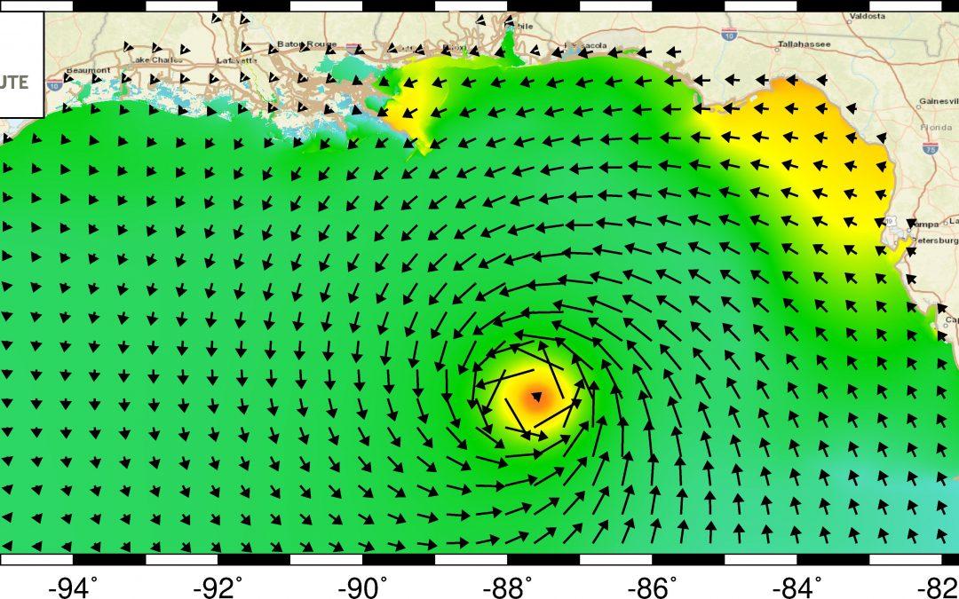 Hurricane Simulations by Bridges, Bridges-2 Inform State Decision-Making